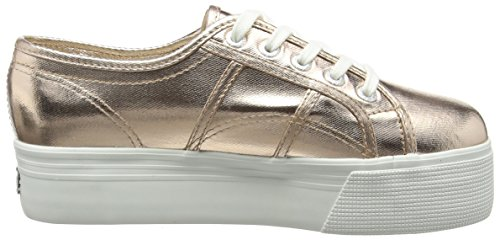 Superga 2790 COTMETW Sneakers da Donna, Colore Oro (Rose Gold), Taglia 40  EU (6.5 UK). IMMAGINI. Click sull'immagine per ingrandirla
