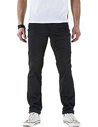 Meltin'Pot - Pantalón  MANER S0103-LT000 para hombre, estilo slim, ajustado, talle media