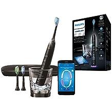 Philips Sonicare HX9903/13 Diamond Clean Smart  - Cepillo de dientes con App y cabezales con sensores, Negro
