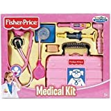Fisher Price L5196 - Doktorkoffer, Arztkoffer in pink