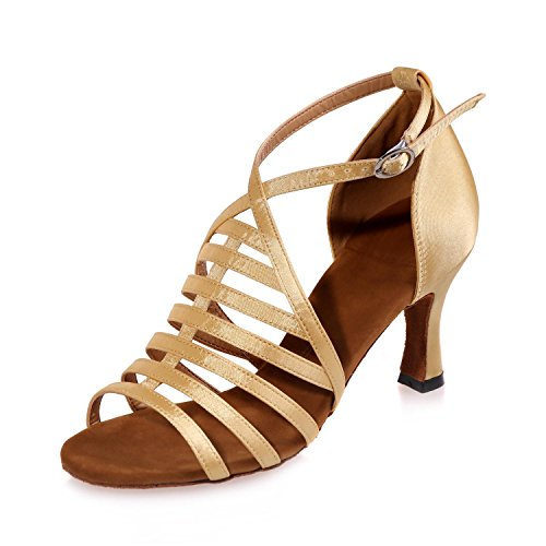 Donne / scarpe da ballo in pelle artificiale latino / sandali da ballo /  cubana /