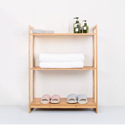 WEBO HOME- Wohnzimmer Bambus Regal Kreative Küche Mikrowelle Ofen Rahmen Landung Bücherregal Lagerung Rack -Regal ( größe : 40*30*88 cm )