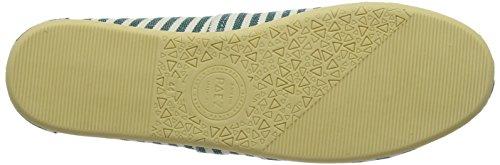 Paez Herren Original-Surfy Espadrilles Mehrfarbig (Green)