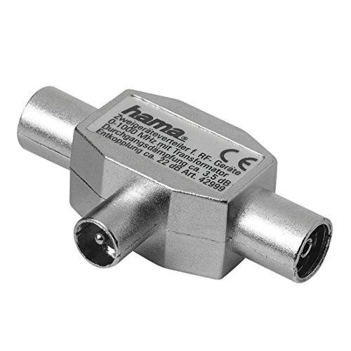 Hama 122470 - Conector coaxial
