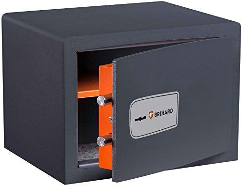 Brihard Safe Protector mit Schlüsselschloss 25x35x25cm (HxBxT)