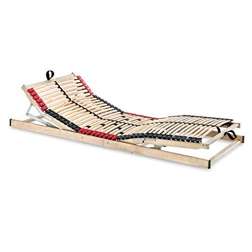 *Betten-ABC Superflex Elektro, Lattenrost mit elektrischer Kopf- und Fußteilverstellung, 7 Zonen Größe 140×200*