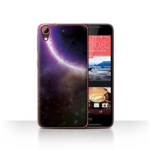 Stuff4® Hülle/Case für HTC Desire 628 / Lila Finsternis Muster/Weltraum Kollektion