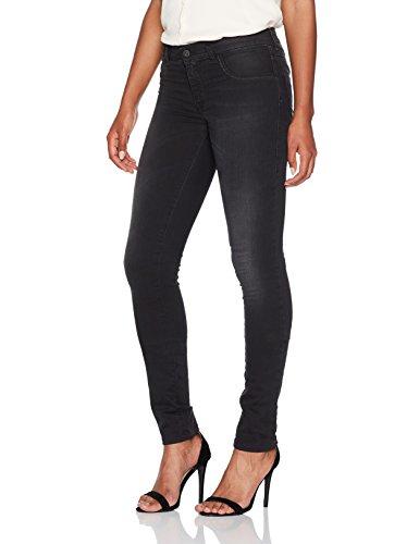Skinny Diesel Jeans Damen (Diesel Damen Skinny Jeans Livier Jegging, Schwarz (Black/Dark Grey 0684J), W28)