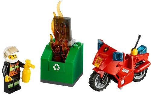 Imagen 2 de LEGO CITY 60000 - Moto de Bomberos
