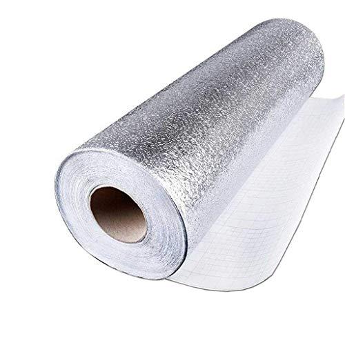 Mitlfuny-> Haus & Garten -> Wohnkultur,Premium Aluminiumfolie Wall Paper Selbstklebende Backsplash Heat Kitchen Wallpaper (Halloween Wallpaper Kinder Für)