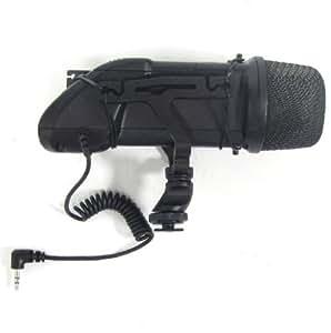 Stéréo microphone de la caméra par BOYA BY-V03 - Cablematic