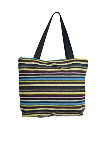 TATTOPANI Sac de plage, Couleurs mélangées (Multicolore) - TP-CH-BAG-09