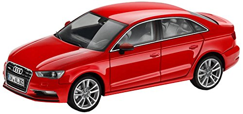 Audi 5011303133 Miniatura A3 Limousine Limo, 1:43, Misano Red