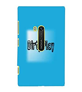 NOKIA LUMIA 920 DIRTY PLAY Back Cover by PRINTSWAG