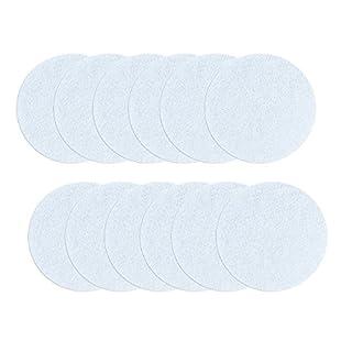 aumondo 12 Große Anti-Rutsch Sticker für Badewanne, Dusche und Bad, transparent und selbstklebend. Durchsichtige Antirutsch Aufkleber.