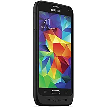 promo code a35a4 e1a30 mophie juice pack Compact Battery Case for Samsung Galaxy S5 – Black