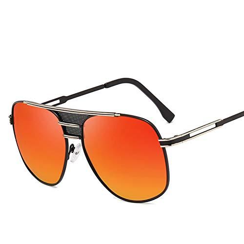 Yuanz Pilot Polarized Sunglasses Herren Cool Retro Fashion Brand Design Herren Sonnenbrille Goggles Uv400,S414