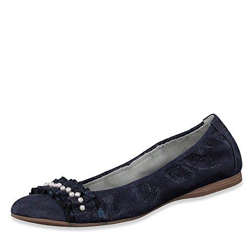 Tamaris 1-1-22122-20, Ballerines Blau Pour Femmes