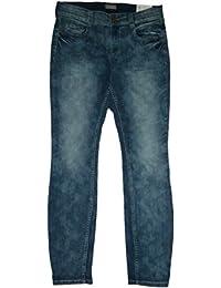 Triangle by s.Oliver Damen Stretch- Jeans Gr. 40 // blau Denim / 348049