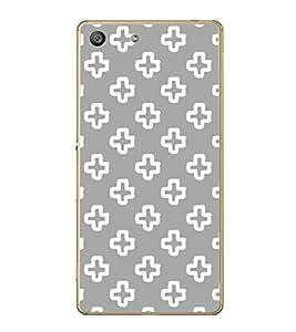 Fiobs Designer Back Case Cover for Sony Xperia M5 Dual :: Sony Xperia M5 E5633 E5643 E5663 (Design Patterns Beautiful Shapes)