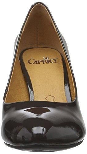 Caprice 22409, Scarpe con Tacco Donna Grigio (DK GREY PATENT 225)