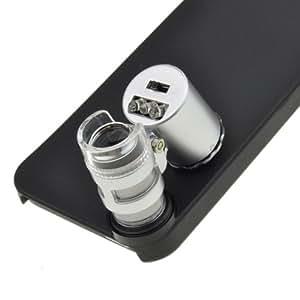 Neewer 60x Zoom LED Téléphone Portable Mobile Microscope Micro Optique Objectif Pour Apple iPhone 5