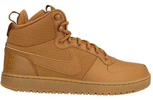 Nike - Nike Backboard 2 Mid Winter (GS) Scarpe Donna Nere Pelle 616647 - Noir, 36,5