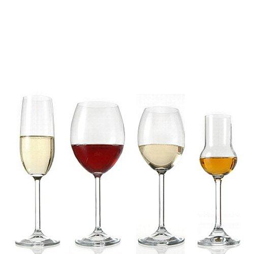 Montana Gläser Sortierung 24 tlg. Pure - Rotwein, Weißwein, Sektgläser und Obstler