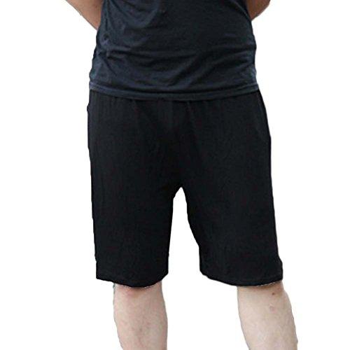 GladiolusA Pantalones Cortos Shorts Elástico Noche