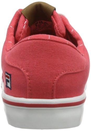 Fila BROOKLYN LOW KIDS 26040123.TKM Unisex-Kinder Sneaker Rot (Rouge Red)