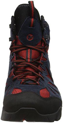 Merrell Capra Mid Gore-Tex, Chaussures de Randonnée Hautes Homme Bleu (Navy)