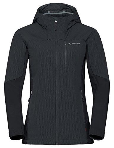 Vaude Damen Women's Miskanti S Jacke, Phantom Black, 38 Womens Storm Front Jacket