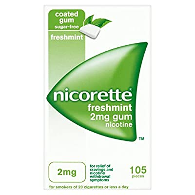 Nicorette Chewing Gum 2 mg Freshmint - 105 Pieces from UniChem Limited