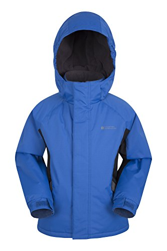 Mountain Warehouse Raptor Kinder-Schneejacke Skijacke Winter Snowboard gefütterter schneedichter Mantel Jungen Mädchen Kobalt 164 (13 Jahre) Mädchen Ski-snowboard-jacke