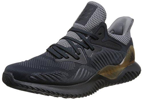 Laufschuhe Adidas Frauen Grau (adidas Unisex-Erwachsene Alphabounce Beyond M Laufschuhe, Grau (Gris/(Gricua/Carbon/Grpudg) 000), 43 1/3 EU)