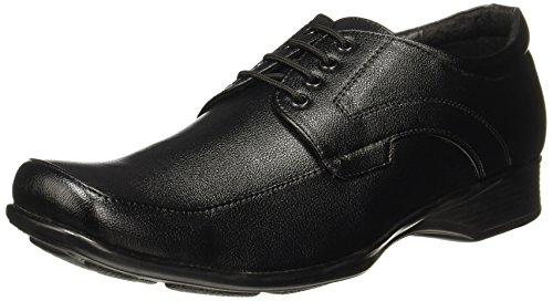 BATA Men\'s Quin Two Black Formal Shoes-9 UK/India (43 EU)(8216651)