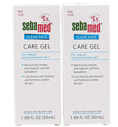 Sebamed Clear Face Care Gel 50ml - (Pack of 2)
