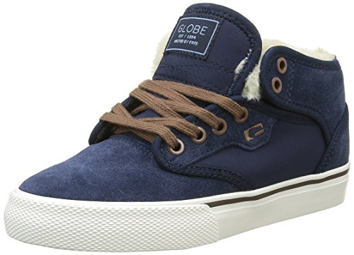 Globe Jungen Motley Mid Skateboardschuhe, Bleu (13246), 38 EU (Schuhe Kinder Globe)