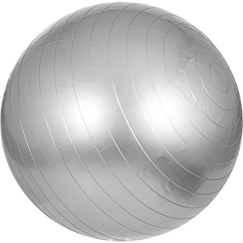 s Sitzball | verschiedene Größen und Farben | l 55-75 cm Farbe Grau, Größe 65 cm ()