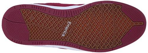 Emerica - Westgate Cc, Scarpe da skateboard Uomo burgundy/white