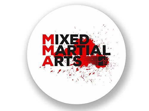 2x MMA Mixed Martial Arts Vinyl Aufkleber # 7035 - 10cm/100mm Wide -