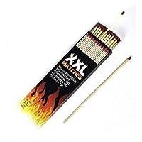 Clipper XXL Safety Wooden Match Box 40pcs Box Fireside BBQ lighter 8 Long by Bargains Hut