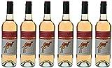 Yellow Tail Pink Moscato Vin Mousseux Rosé d'Australie 0,75 L - Lot de 6