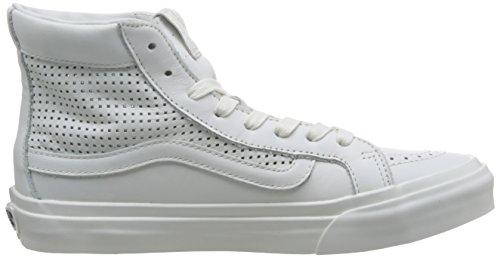Vans U Sk8-Hi Slim, Baskets mode mixte adulte Blanc De Blanc