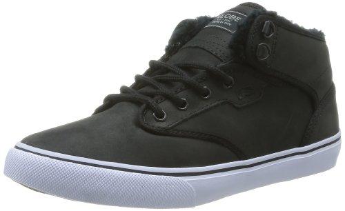 Globe GBMOTLEYM Unisex-Erwachsene Sneaker Schwarz (black fur 20003)