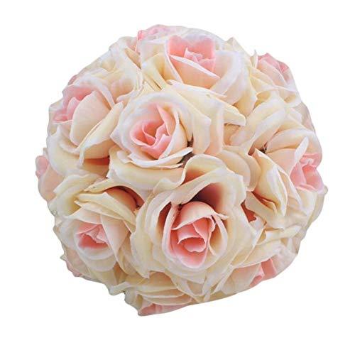 yestter Rose Flower Ball Hochzeit Dekorationen Künstliche Rose Flower Ball Geeignet Für Hochzeiten, Partys