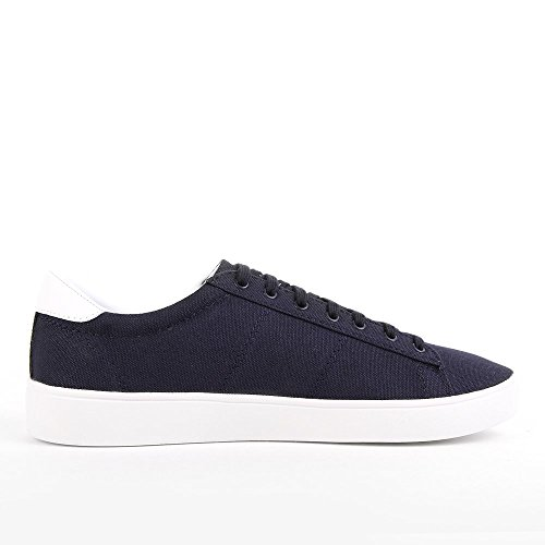 Fred Perry Spencer Canvas Navy Sky Blue B8285C11, Turnschuhe Blau