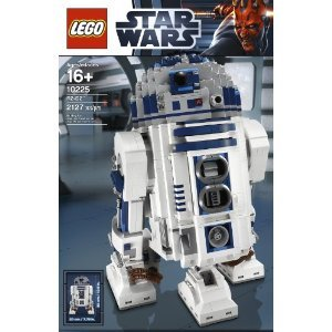 LEGO-Star-Wars-10225-R2D2-2-Fold-Out-Front-Spacecraft-Linkage-Control-Arms-Retractable-Third-Leg