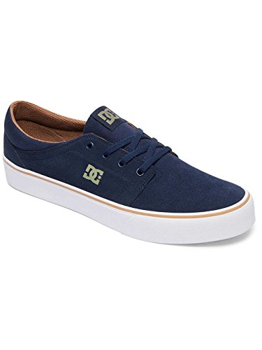 DC Shoes Trase SD, Sneaker Uomo Bleu - Navy/Camel