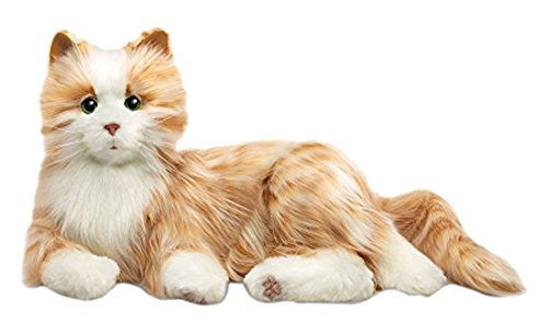 Hasbro Joy For All Orange Tabby Companion Cat
